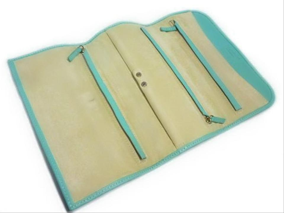 0838ca298d2 Authentic Vintage Tiffany   Co. Leather Travel Roll Up Jewelry Case.  12345678