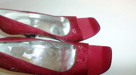 Enzo Angiolini Red fabric Pumps Image 1