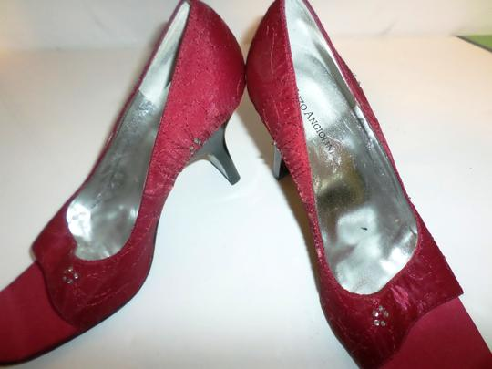 Enzo Angiolini Red fabric Pumps Image 3