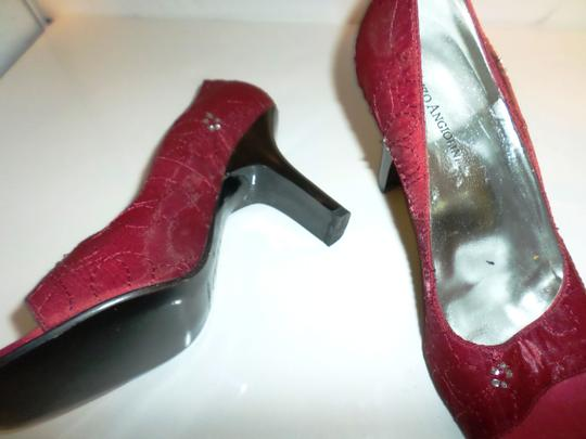 Enzo Angiolini Red fabric Pumps Image 4