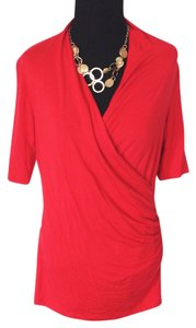 Lord & Taylor Top Red
