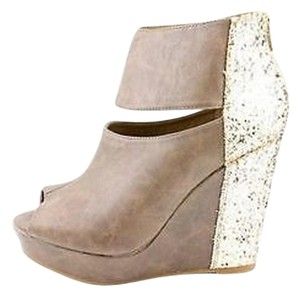 Jellypop Brown Wedges