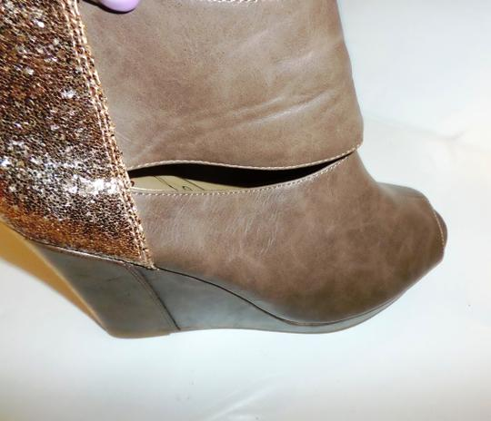 Jellypop Brown Wedges Image 4