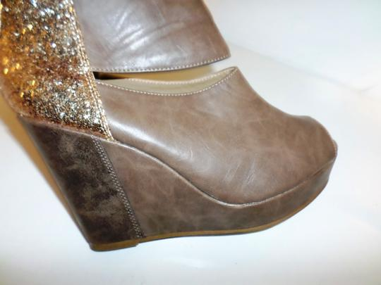 Jellypop Brown Wedges Image 7