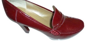 Me Too Loafer Patent Loafers Candy Apple Red Platforms
