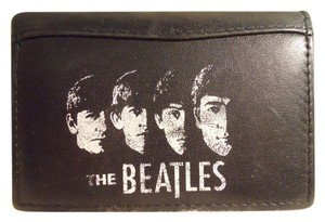 Other vintage men's Beatles leather bi-fold