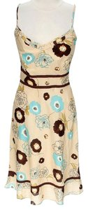 Vince short dress Floral Empire Waist on Tradesy
