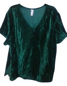 Avon Fashions Top Green (Deep Emerald)