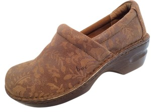 Brn 8 39 Born Leather Brown Mules