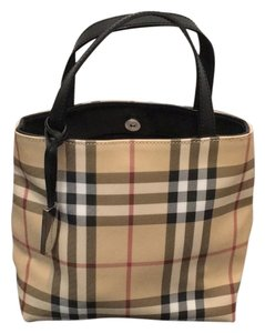 Burberry Satchel in Plaid