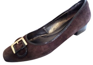 Naturalizer 11 Leather Brown Flats