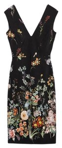 Zara Floral Tube Dress