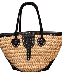 Straw Studios Natural Beach Bag