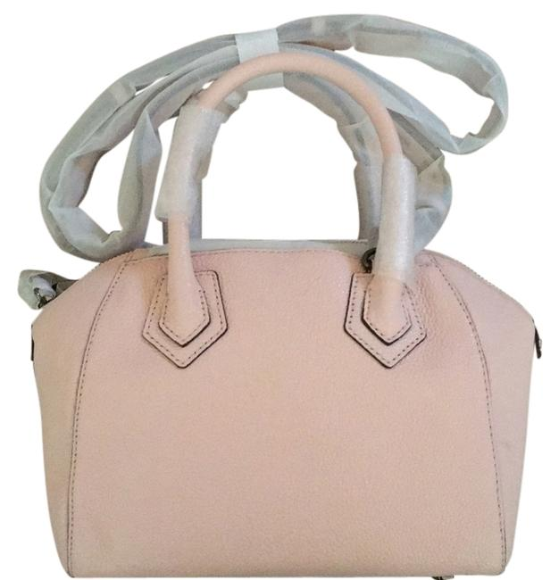 Item - Micro Perry Satchel Pale Blush Genuine Leather Baguette