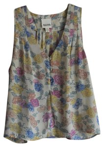 YA-YA Urban Tank Summer Top Floral