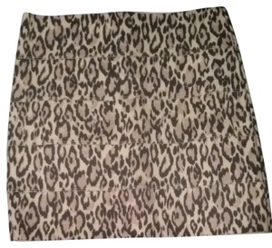 Guess Skirt Animal Print