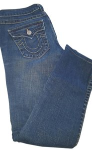 True Religion Denim Stretchy Date Night Skinny Jeans-Medium Wash