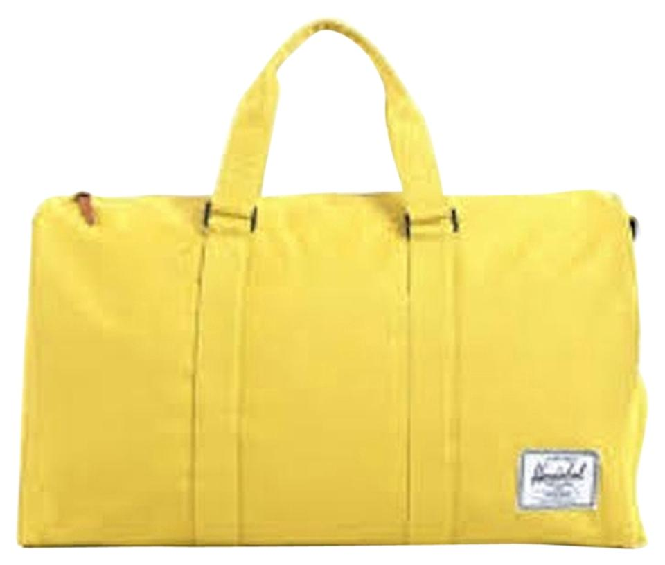 3cca57d80b Herschel Supply Co. Novel Yellow Weekend Travel Bag - Tradesy