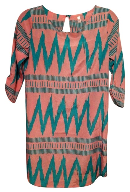 Preload https://item5.tradesy.com/images/cocolove-apparel-dress-pinkteal-1458299-0-0.jpg?width=400&height=650