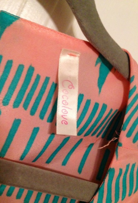 Cocolove Apparel short dress Pink/Teal on Tradesy