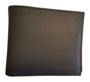 Coach NWT - $175.00 - COACH MEN'S ASH (GRAY) CROSSGRAIN LEATHER SLIM BILLFOLD WALLET