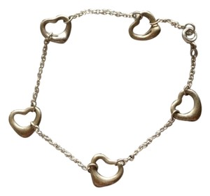 Tiffany & Co. Tiffany and Co Multi Heart Bracelet