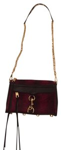 Rebecca Minkoff M.a.c. Mini Mac Leather Calfskin Gold Hardware Shoulder Bag