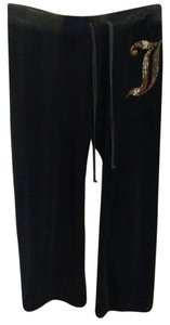 Juicy Couture Velour Gold Glitter Lounge Pants