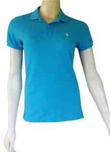 Ralph Lauren Cotton Polo T Shirt Turquoise