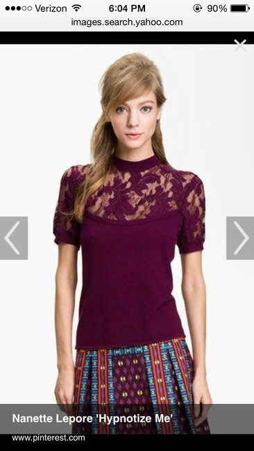 Nanette Lepore Top Mulberry