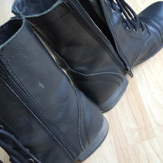 Steve Madden Blac Boots Image 3