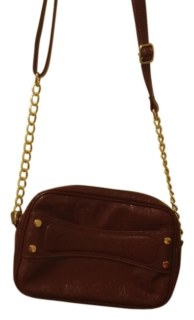 Item - Burgandy Synthetic Leather Tote