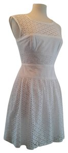 BCBGMAXAZRIA Lace Backless Spring Summer Dress