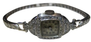 Hamilton HAMILTON ANTIQUE PLATINUM 14KT WHITE GOLD DIAMOND WATCH