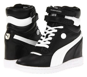 Black Puma Sneakers Wedge Up to 90% off at Tradesy