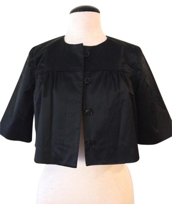 Theory Theory Black Cropped Tux Bolero/Shrug