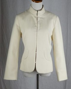 Chico's Chicos Chicos 1 Serah Smooth Ivory Jacket