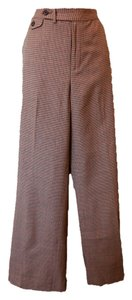 Ralph Lauren Wool Lightweight Classic Trouser Pants Brown and tan