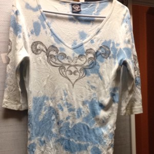 Other T Shirt Blue/white