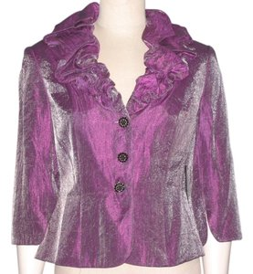 Victor Costa Top Shimmery Purple
