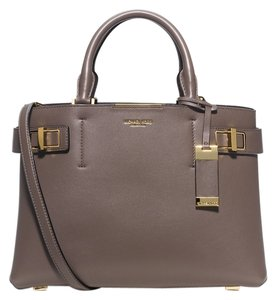 Michael Kors Mk Collection Italy Satchel in Taupe