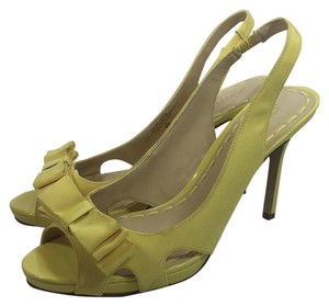 Reserved Yellow Pumps