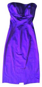 bebe Silk Strapless Dress