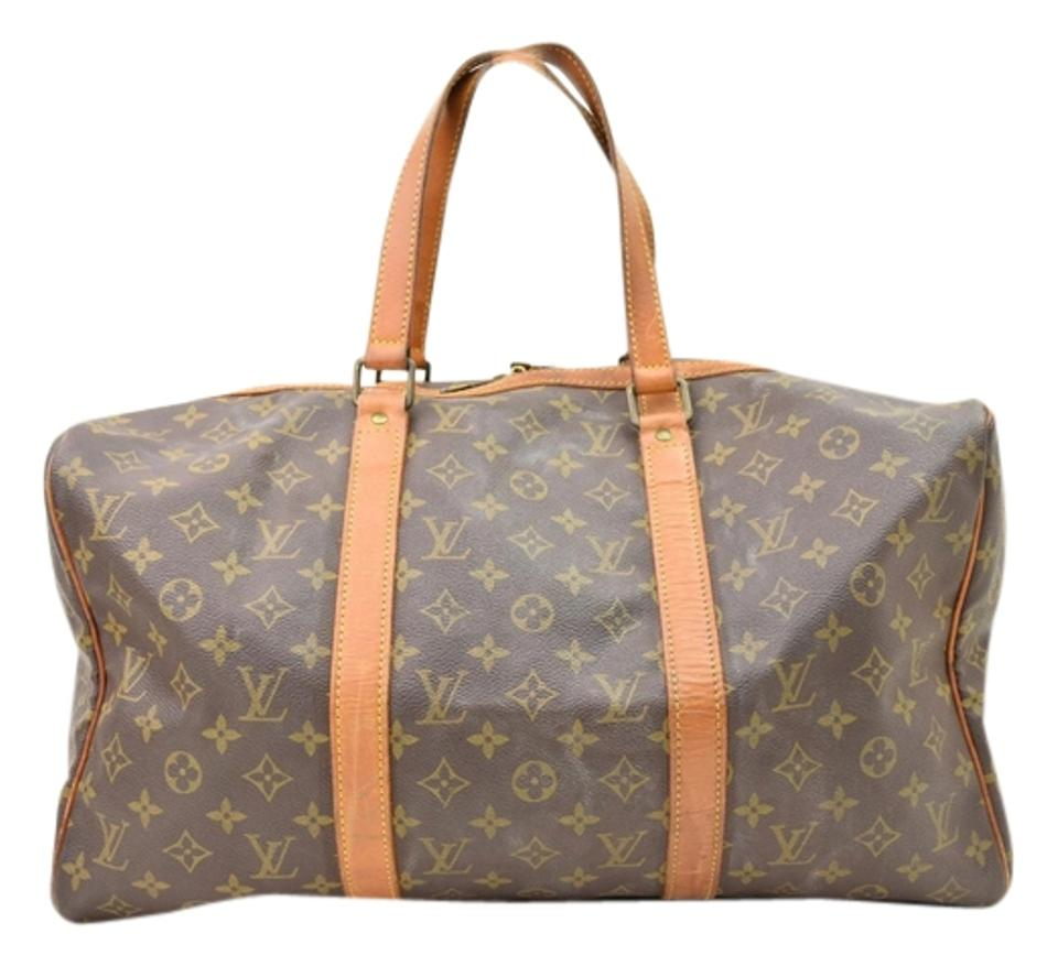 70c0aea9a5c Louis Vuitton Sac Souple Keepall Monogram 45 Carry On Weekend Travel ...