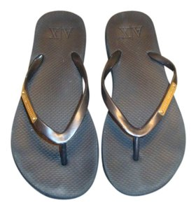 A|X Armani Exchange black Sandals