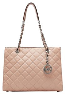Michael Kors Susannah Quilted Leather Shoulder Bag