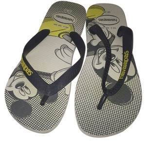 Havaianas Grey and yellow Sandals