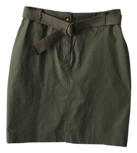 Atelier Luxe Skirt Olive Green