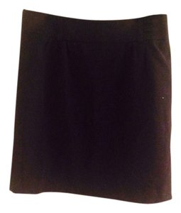 Ann Taylor LOFT Mini Skirt Navy
