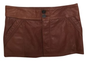 Mango Skirt Brown